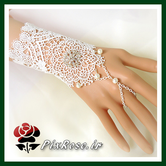 دستکش فانتزی عروس