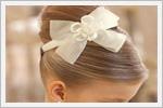 شینیون مو برای دخترکوچولوها