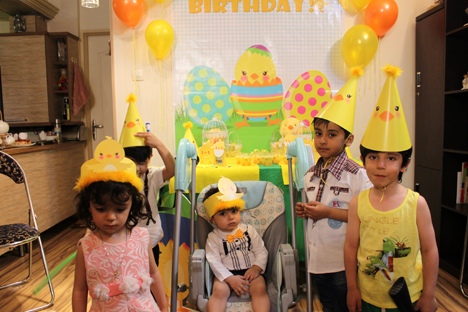 جشن تولد کیان