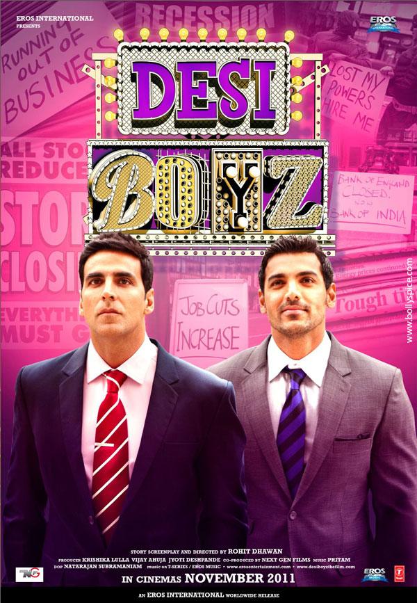 دانلود دوبله فارسی فیلم Desi Boyz 2011