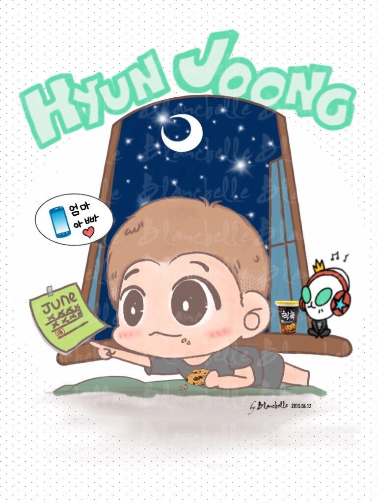 Beautiful Fan Art From Hyun Joong