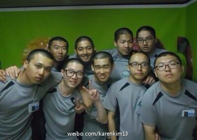 New Photo of Kim Hyun Joong in Army 15.06.11