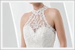 مدل لباس عروس با دانتل