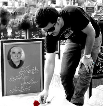 سنگ صبورم برادر شهید ایرج محمدی