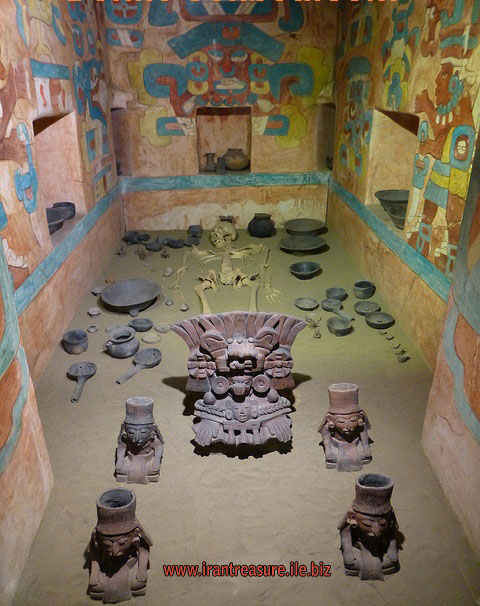 mezar5 قبرهای باز شده   عکس