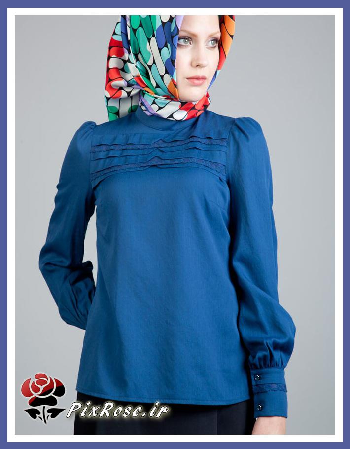 لباس مجلسی یقه سه سانت