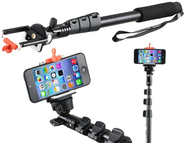 خرید پایه دوربین موبایل مونوپاد monopad