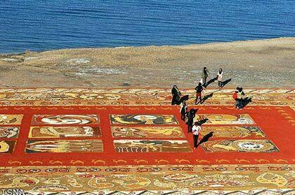 بزرگ ترین فرش خاکی جهان