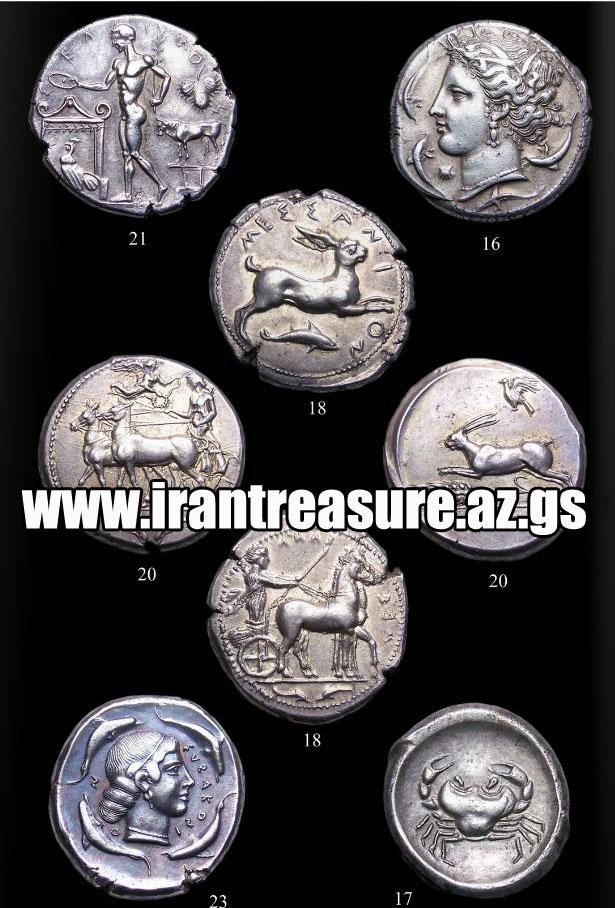 سکه های یونانی رومی
