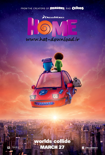 Home 2015 cover small دانلود دوبله فارسی انیمیشن خونه   Home 2015