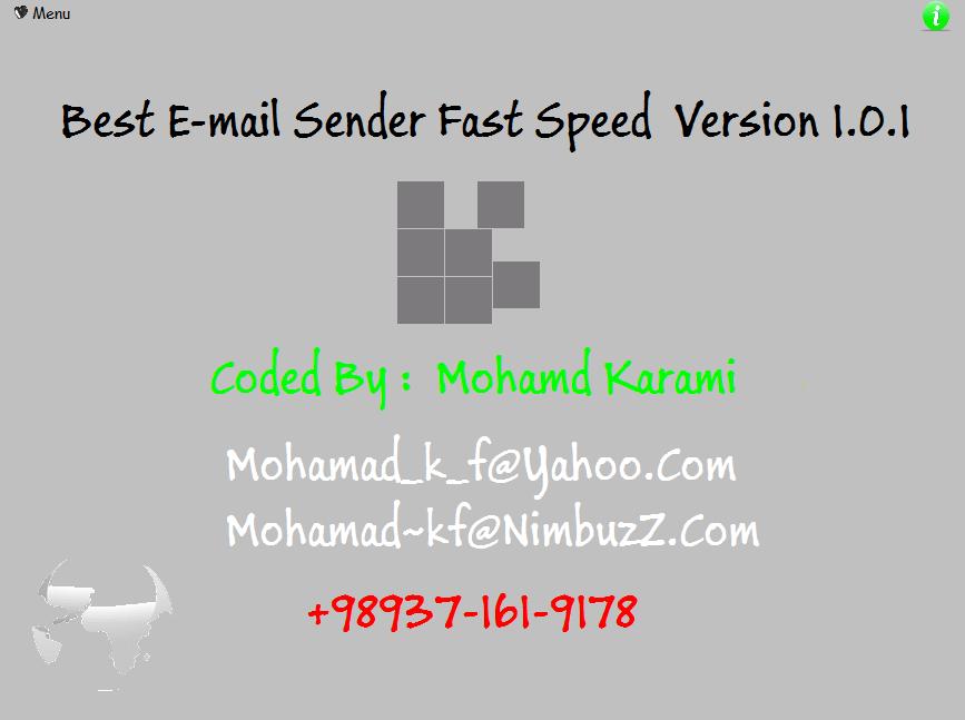 bulk Mail Sender / ارسال ایمیل انبوه  Mail_sender2
