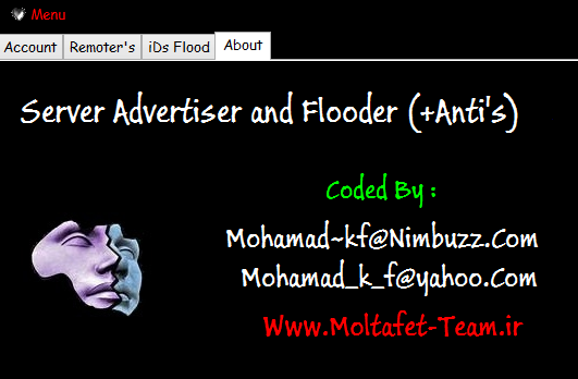 Bot Server Flooder Room (Pvflood+addflood) + Advertiser (Tabligh) + Anti's Server4