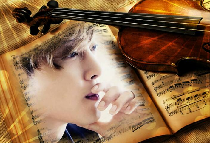 Hyun Joong - Graphic Photos