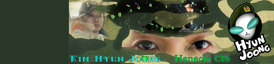 Kim Hyun Joong - Fan Art of Army