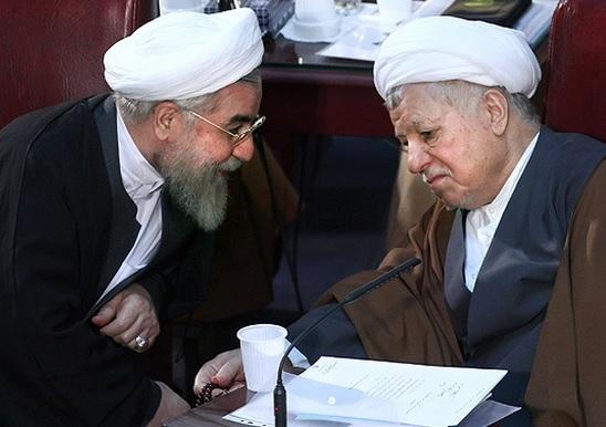 حجج اسلام روحانی و هاشمی