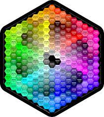 کد رنگ هگز و rgb در css