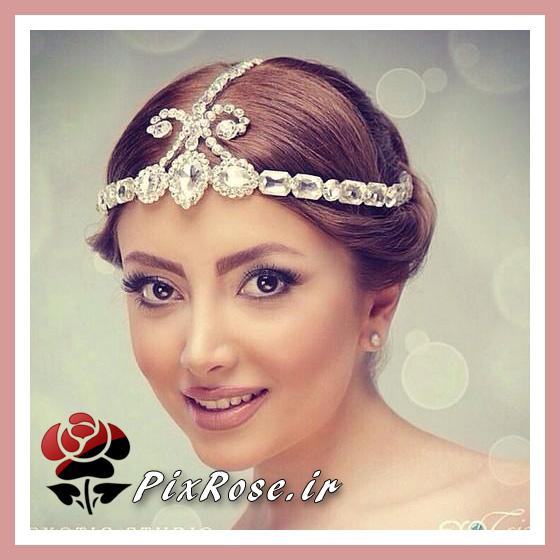 عروس ایرانی فرق وسط