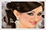 شینیون و آرایش عربی عروس