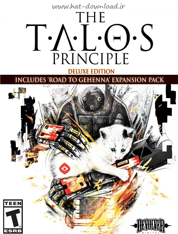 The Talos Principle pc cover small دانلود بازی The Talos Principle برای PC