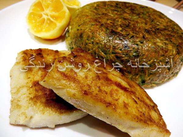 ماهی شیر سرخکرده