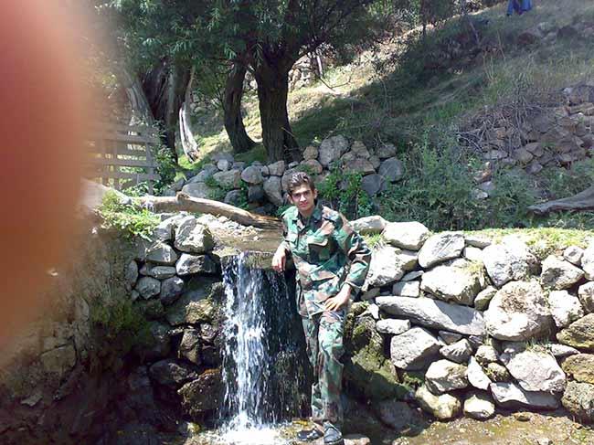 شهید محمّد علی دولت آبادی، اردوگاه بسیج
