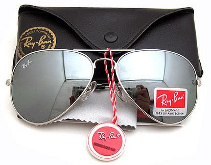 عینک آفتابی خلبانی شیشه جیوه ای