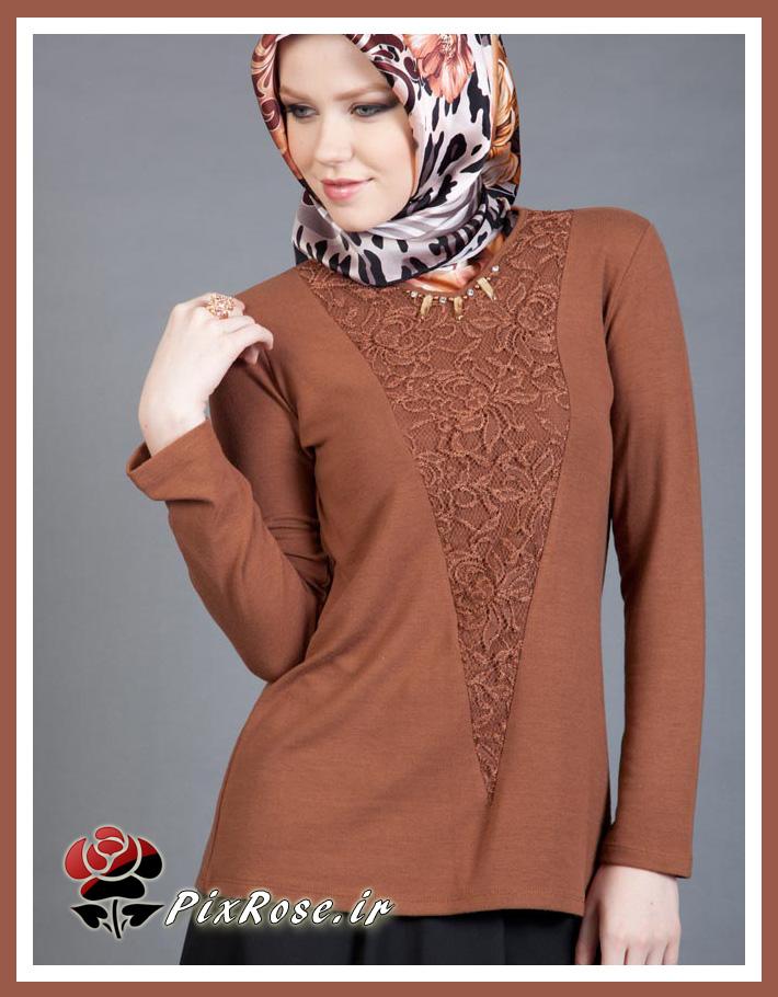 مدل لباس شکلاتی رنگ