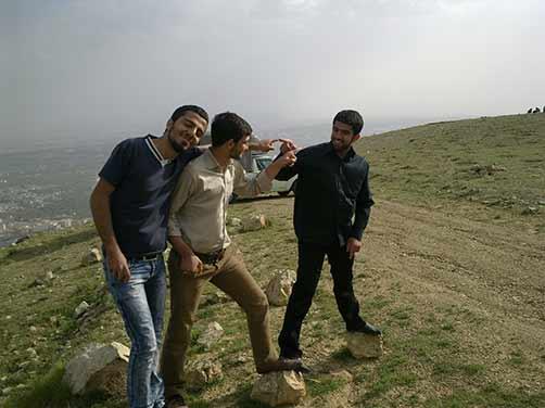 عکس های شهید محمّد علی دولت آبادی ودوستان