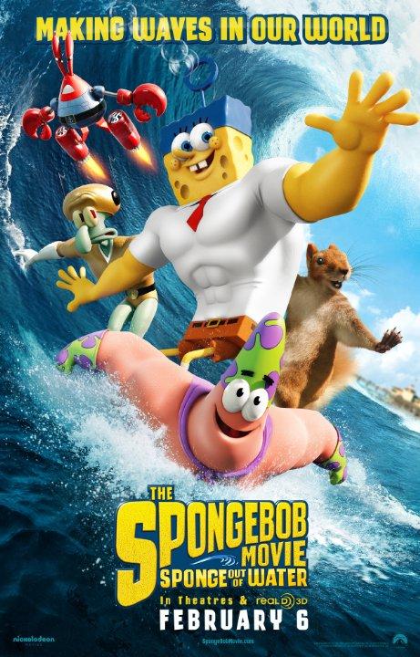 باب اسفنجی: اسفنج بیرون از آب – The SpongeBob Movie: Sponge Out of Water