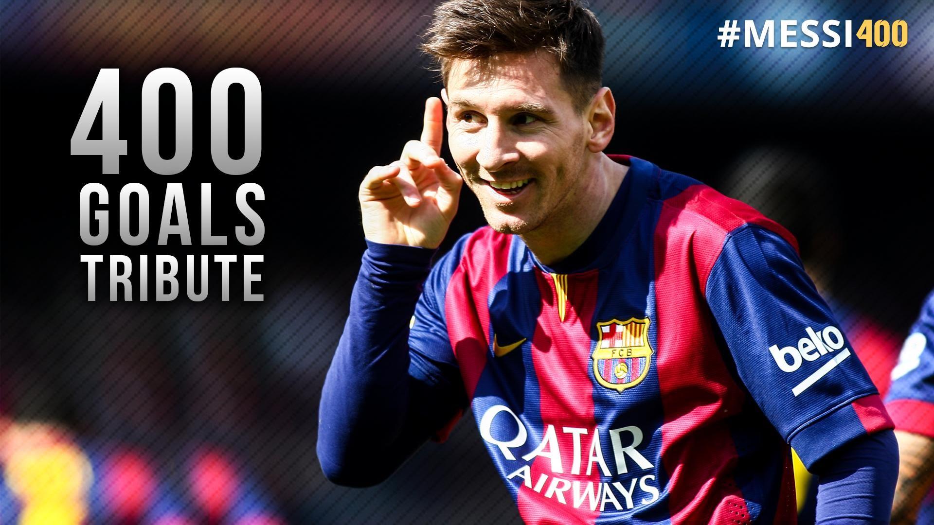 دانلود کلیپ تمام 400 گل لئو مسی 2004-2015 کیفیت HD