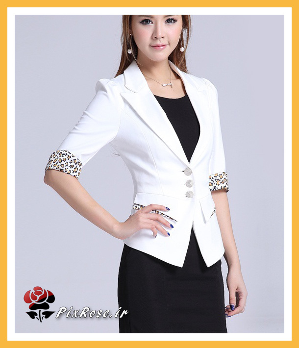کت سفید دخترانه