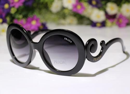 خرید عینک پرادا شیشه گرد