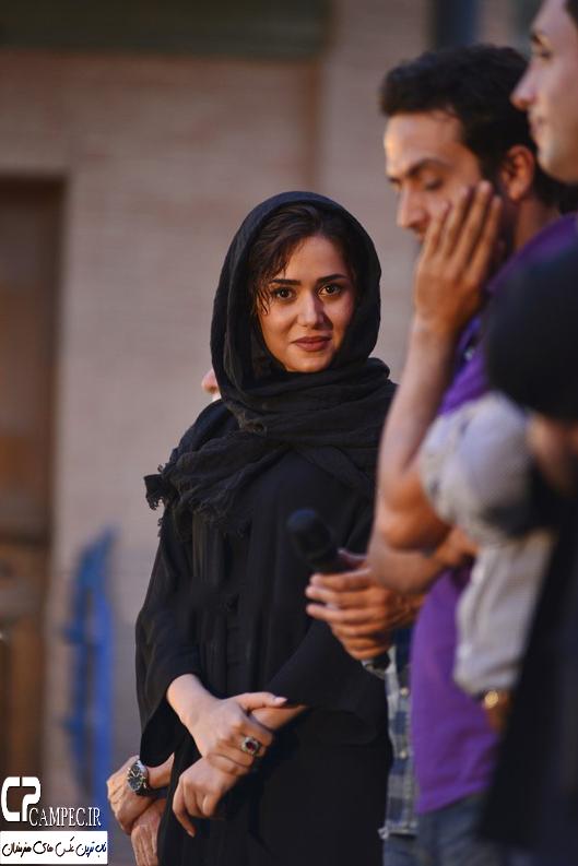 عکس های پریناز ایزدیار در مراسم رونمایی از سریال شهرزاد , عکس های بازیگران