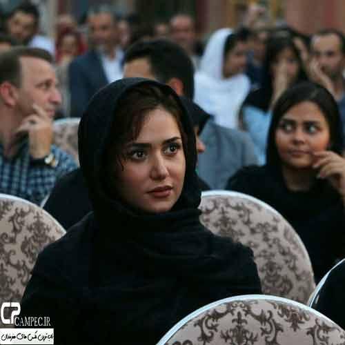 عکس های پریناز ایزدیار در مراسم رونمایی از سریال شهرزاد , عکس بازیگران