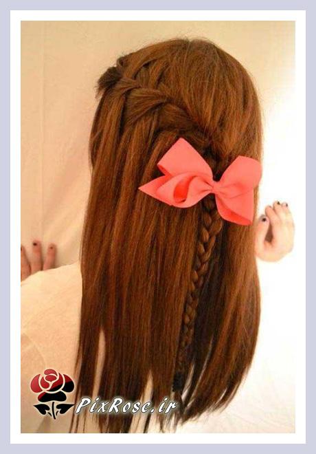 بافت مو برای بچه ها