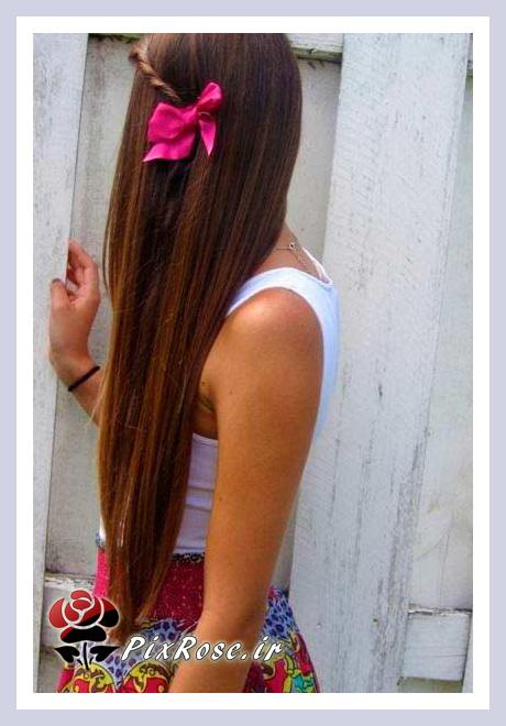 آرایش مو با گل سر
