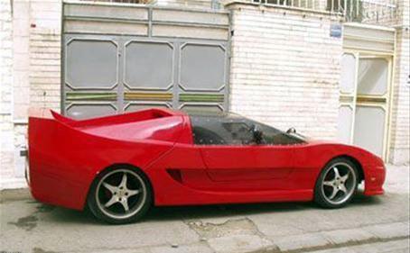 لامبورگینی و فراری ایرانی نیز ساخته شد , اتومبیل ها