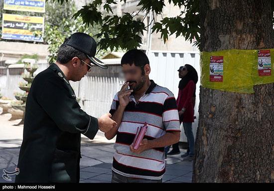تصاویری از طرح برخورد پلیس با روزه خواران در تهران!! , اجتماعی