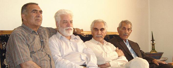 محمد قلی نادری درهشوری+دکتر حسین محمدزاده صدیق+دکتر منوچهر کیانی+اسدالله مردانی