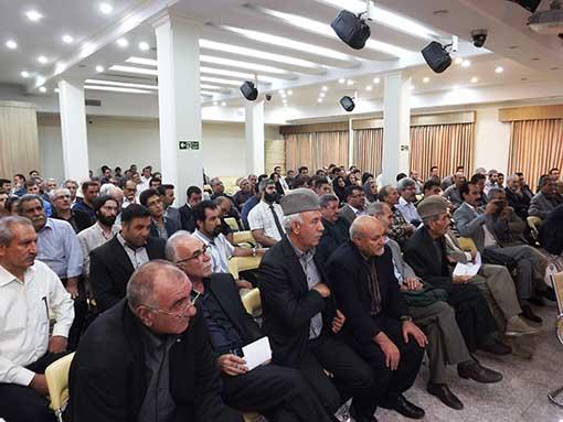 مراسم یادبود مرحوم محمد قلی نادری درهشوری، تهران، شرکت جهانپارس
