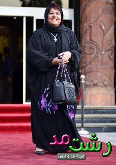 مدل مانتو زنان چاق الگو از بازیگران زن ایرانی 2015