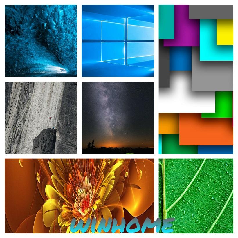 والپیپر:سری 22 از تصاویر زمینه+تصاویر پیش فرض ویندوز10 با کیفیت عالی