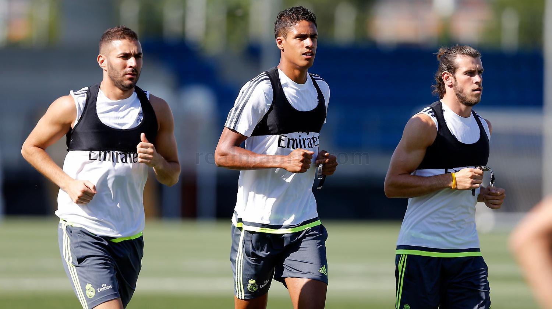 اولین جلسه تمرینی رئال مادرید زیر نظر بنیتس + عکس