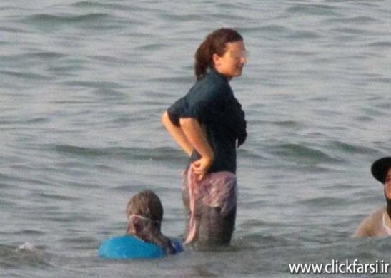 عکس های شنا کردن دختر لخت شمال