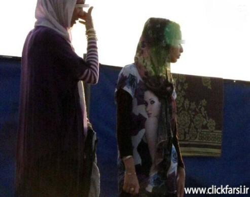 عکس های بد حجابی زنان کنار سواحل دریای خزر