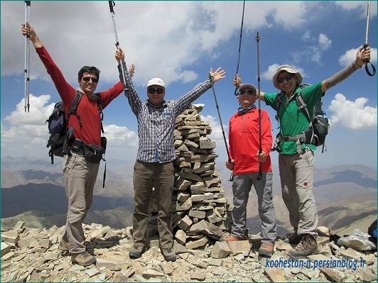 گروه نشاط زندگی - قله ناظر بزرگ