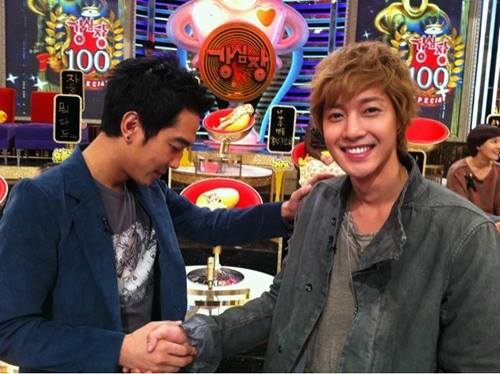 Kim Hyun Joong and Handsome Guy Certified Public Shot