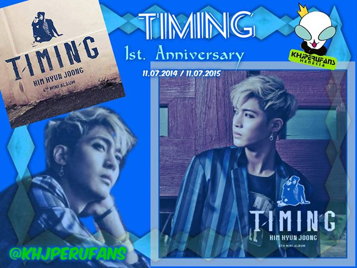 Happy 1st. Anniversary Timing 2014.07.11~2015.07.11