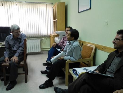 اولین جلسه پایگاه کیفیت بخشی درس عربی در شیراز