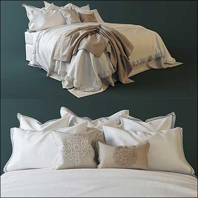 دانلود ابجکت تخت خواب
